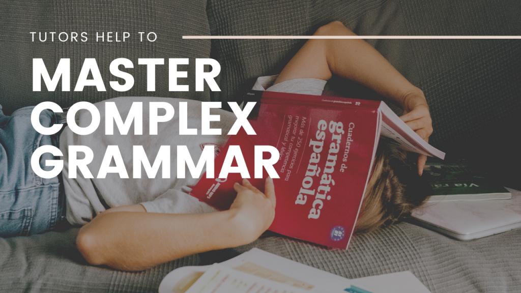 student learning grammar
