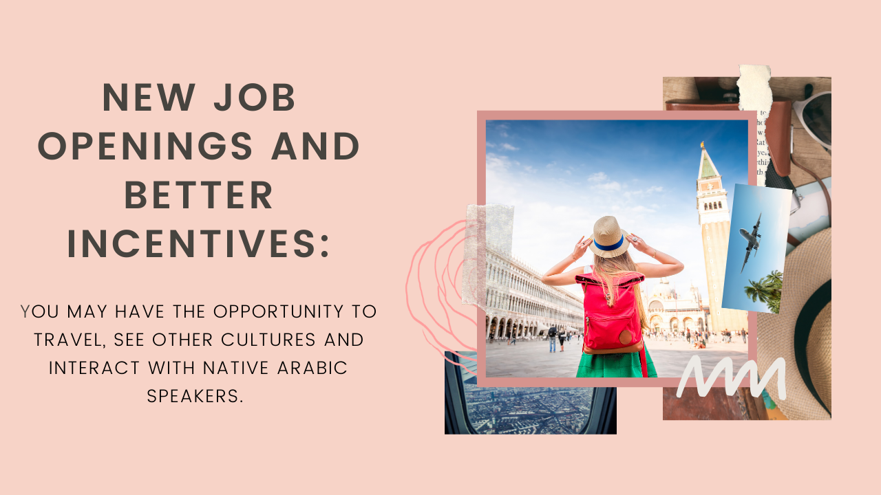 Learn Arabic with Learn&Co: New Job Openings and Better Incentives