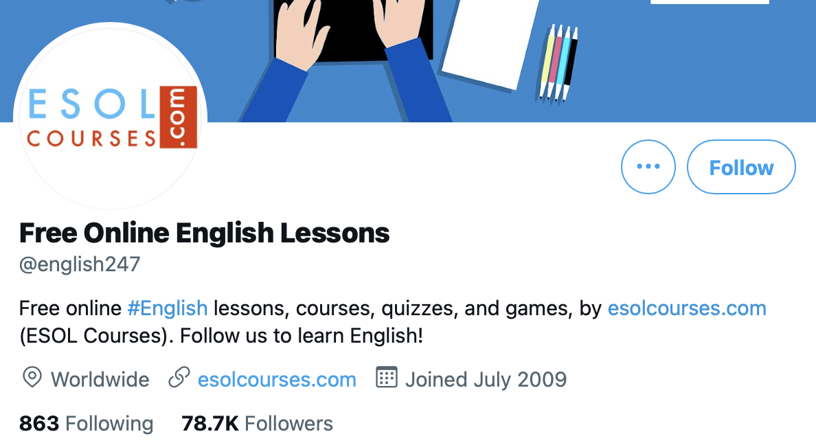 Free Online English Lessons