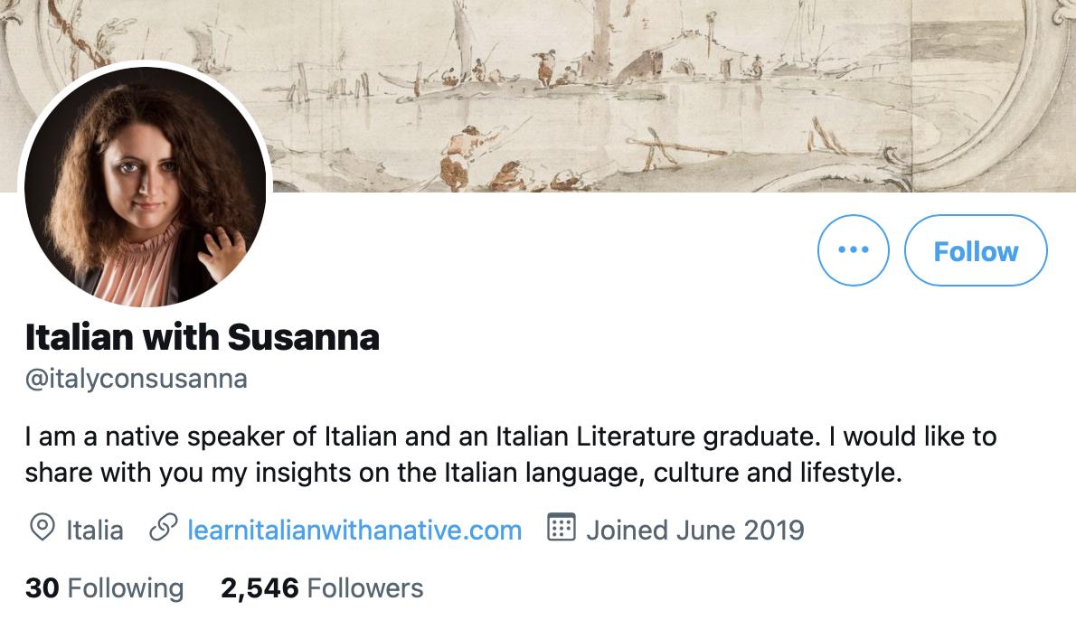 Italian with Susanna